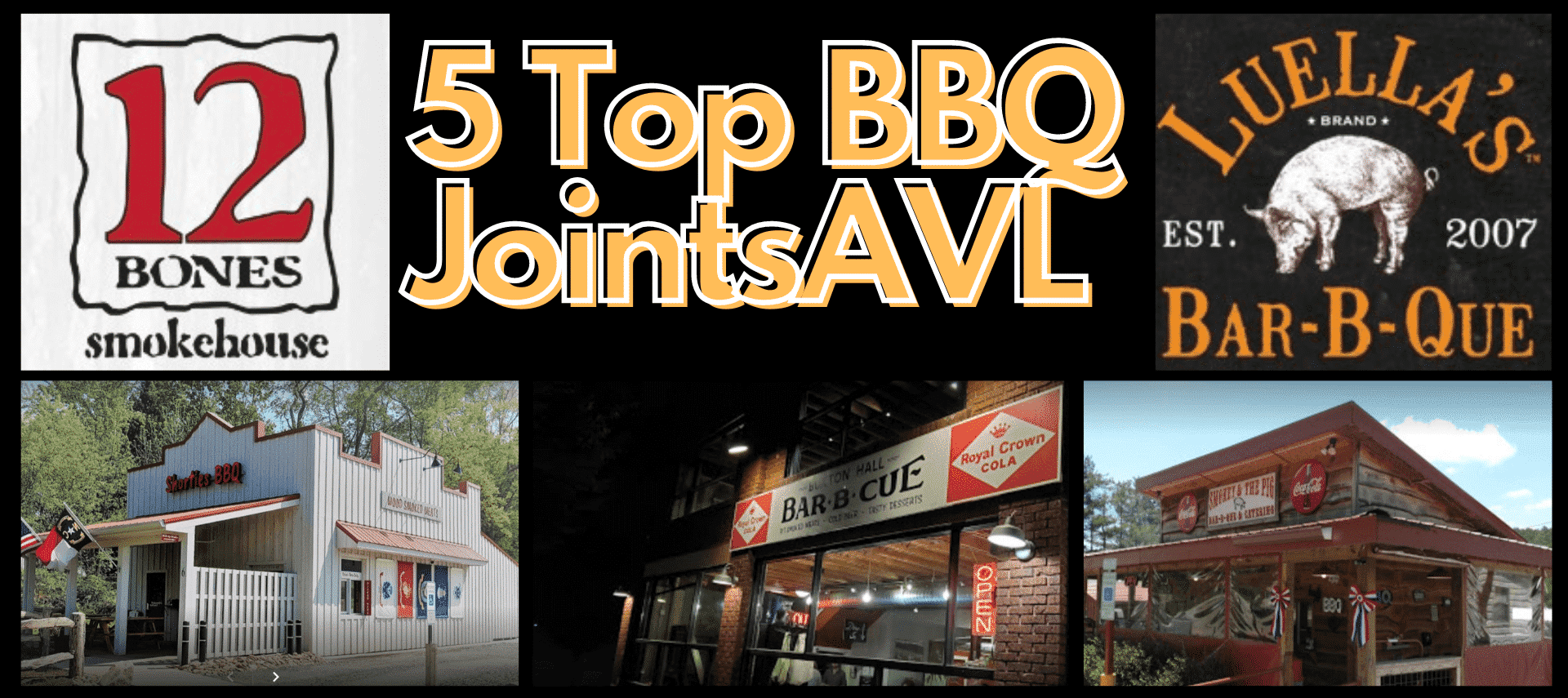 5 BBQ Joints In AVL