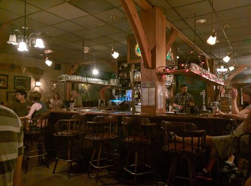 Bar inside Pub