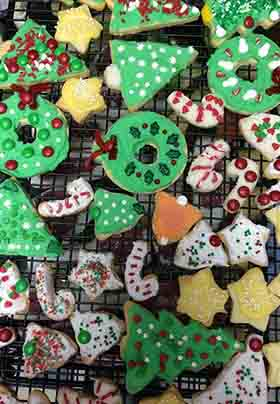 Cookies at Christmas