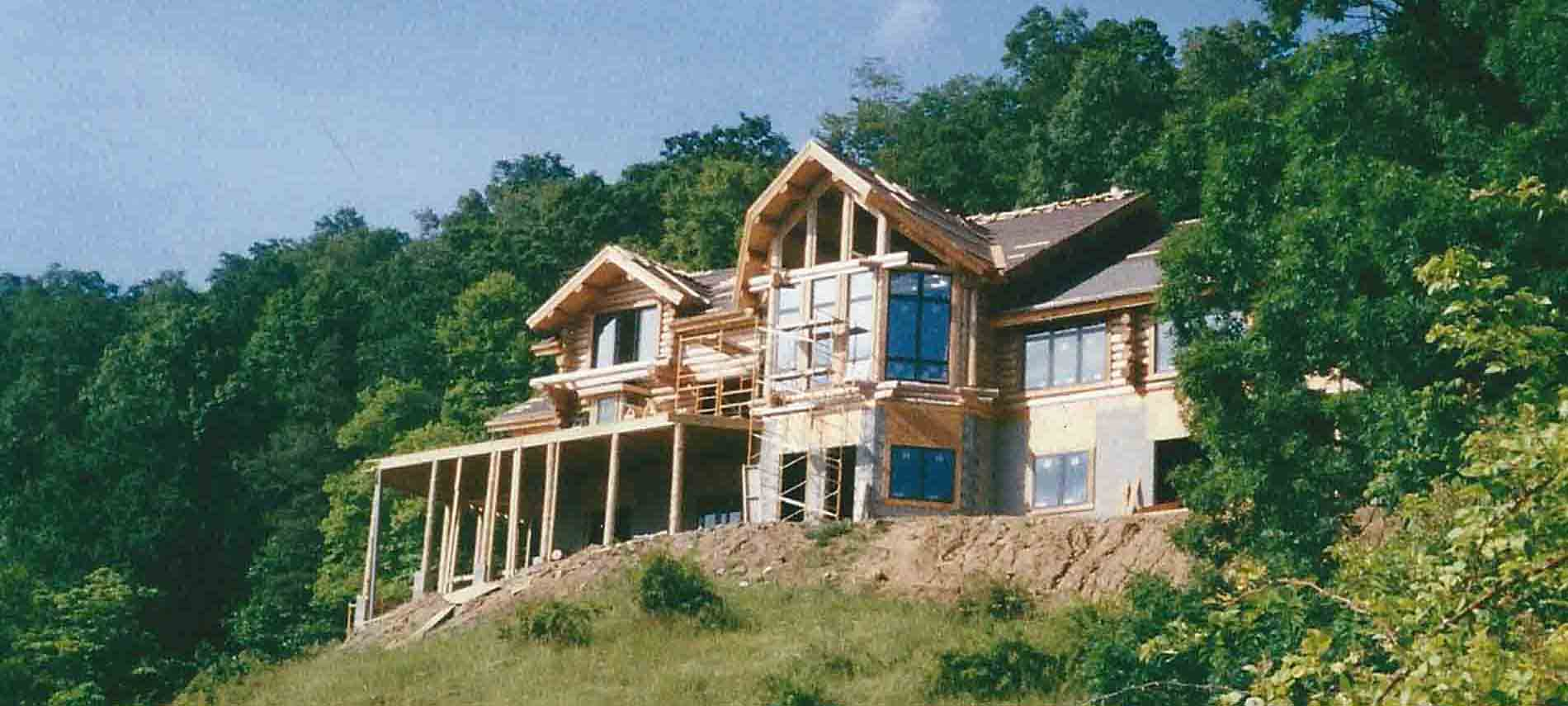 Lodge under constuction