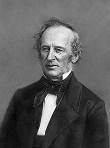 Old fahioned picture of Cornelius Vanderbilt