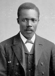old fashioned picture of George Crum in early thirties