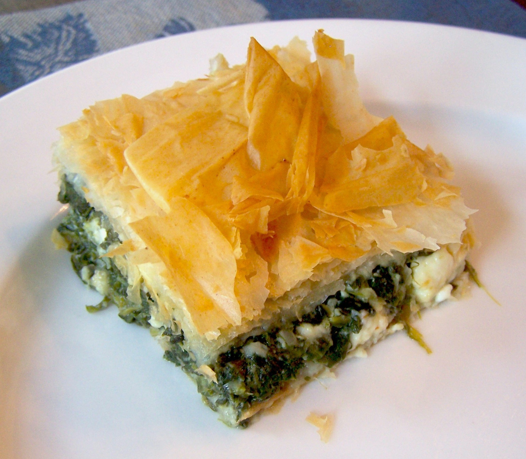 Watch How to Make Spinach Pie video